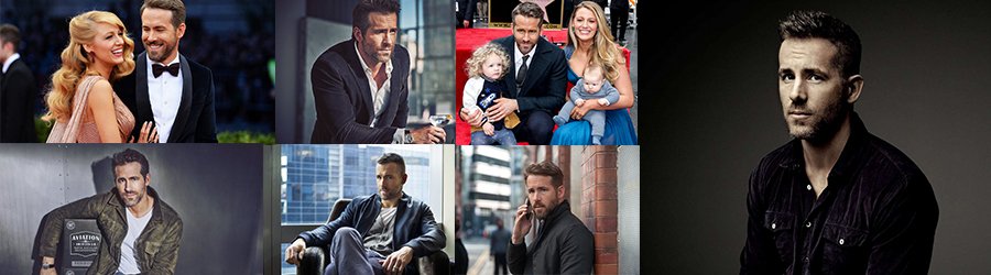 Collage Ryan Reynolds